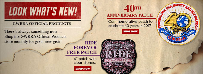 GWRRA 40th Anniversay Patch